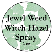 Jewelweed Witch Hazel Spray